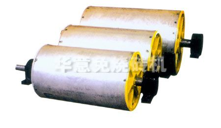 Dry separation magnetic pulley