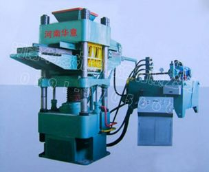 Hydraulic pressure brick machine